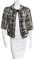 Chanel Tweed Three-Quarter Sleeve Jacket
