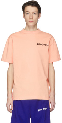 Palm Angels Pink New Basic T-Shirt