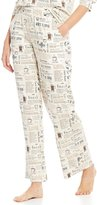 Sleep Sense Coffee-Print Sleep Pants