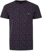 Peter Werth Navy And White Arrow Woven T-shirt*