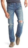 Gap Brushed denim straight fit jeans