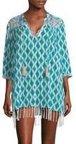 Roller Rabbit Orchards Of Marrakesh Lantern Serafina Tunic
