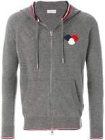 Moncler logo plaque hoodie