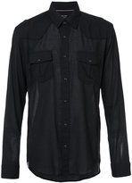 OSKLEN Travel shirt - men - Cotton/Spandex/Elastane - P