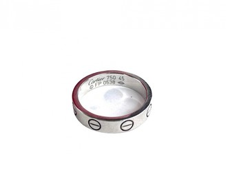 Cartier Love Silver White gold Rings