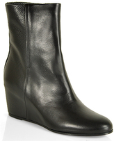 Vince Michela - Leather Wedge Bootie