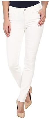 J Brand Mid Rise Skinny in Blanc (Blanc) Women's Jeans