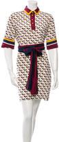 Marc Jacobs Silk Printed Dress