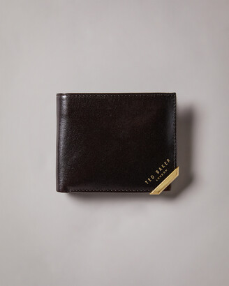 Ted Baker KORNING Metal corner coin wallet