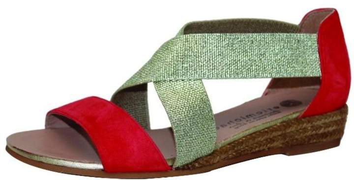 Eric Michael Two Tone Sandals