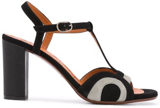 Chie Mihara Two Tone High Heel Sandals