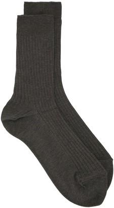 Undercover Ribbed Socks