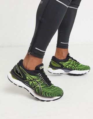 Asics Running gel nimbus sneakers in yellow