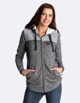 Roxy Womens Fairwater Fleece Zipped Hoodie