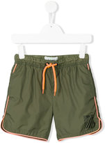 Vingino logo print swim shorts - kids - Polyamide/Polyester - 8 yrs
