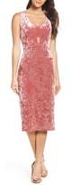 Fraiche by J Velvet Midi Dress
