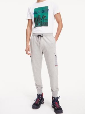 Tommy Hilfiger Quilted Pocket Cotton Joggers