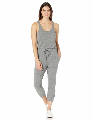 Alternative Women's Cropped Jersey Lounge Jumpsuit