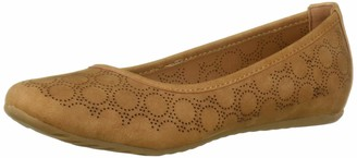 Easy Street Shoes Women's Cosmic Ballerina Slip-on with Cutouts Ballet Flat