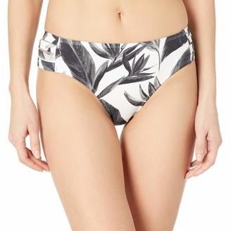 Body Glove Women's Nuevo Contempo Full Coverage Bikini Bottom Swimsuit