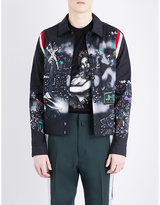 Lanvin Graphic-print Cotton Jacket