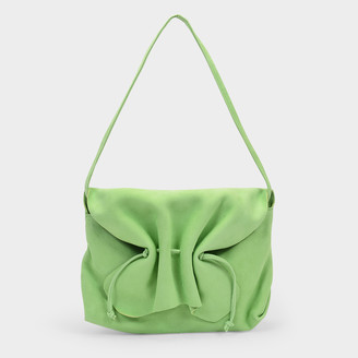 Maryam Nassir Zadeh Lille Bag In Green Leather