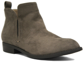 City Classified Smoke Taupe Rudder Bootie