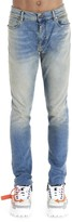 Off-White Off White Logo Printed Skinny Jeans