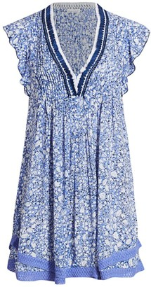 Poupette St Barth Sasha Print Dress