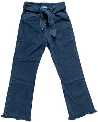 Nanushka Black Cotton Jeans