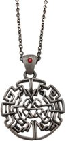 Zeckos Pewter Celtic Knotwork Heart Design Pendant Necklace