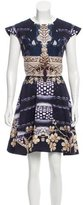 Mary Katrantzou Printed Mini Dress