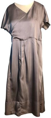 Marni Grey Synthetic Dresses