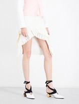 Jacquemus La Jupe Seville woven skirt
