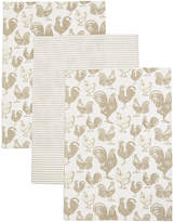 Marks and Spencer Set of 3 Printed Tea Towel