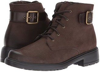 Munro American Bradley (Brown Tumbled Nubuck) Women's Lace-up Boots