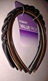 Conair Value Pack 8 Pcs Headbands