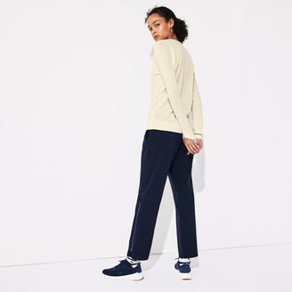 Lacoste Women's SPORT Technical Wool Blend Golf Sweater