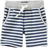 Osh Kosh Boys 4-12 French Terry Striped Pull-On Shorts
