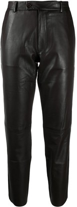 S.W.O.R.D 6.6.44 Straight-Leg Leather Trousers