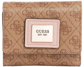 GUESS SG766843BRM Candace Tri-Fold Wallet