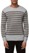 Tavik 'Micra' Trim Fit Stripe Crewneck Sweater