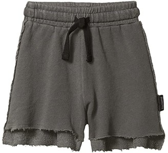 Nununu 2 Lengths Sweatshorts Vintage (Infant/Toddler/Little Kids) (Vintage Grey) Boy's Shorts