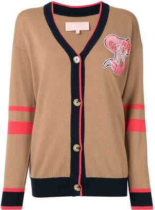 BAPY BY *A BATHING APE® Colour-Block Embroidered Cardigan