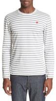 Comme des Garcons Long Sleeve Stripe Crewneck T-Shirt