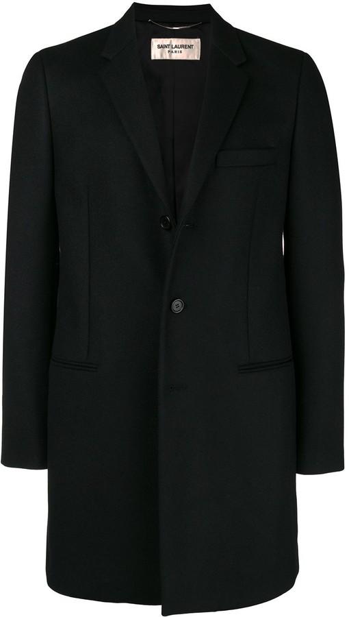 e6454259dfb Ysl Overcoat - ShopStyle