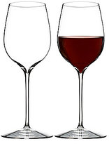 Waterford Elegance Series Crystal Pinot Noir Wine Glass Pair