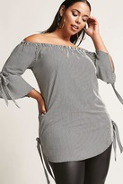 Forever 21 FOREVER 21+ Plus Size Striped Tunic