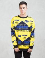 Moschino Mochino Perfomance Team Sweatshirt