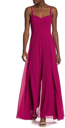 Marina Sleeveless Overlay Jumpsuit